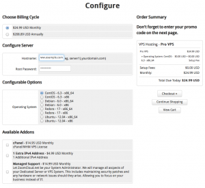 Configure your VPS