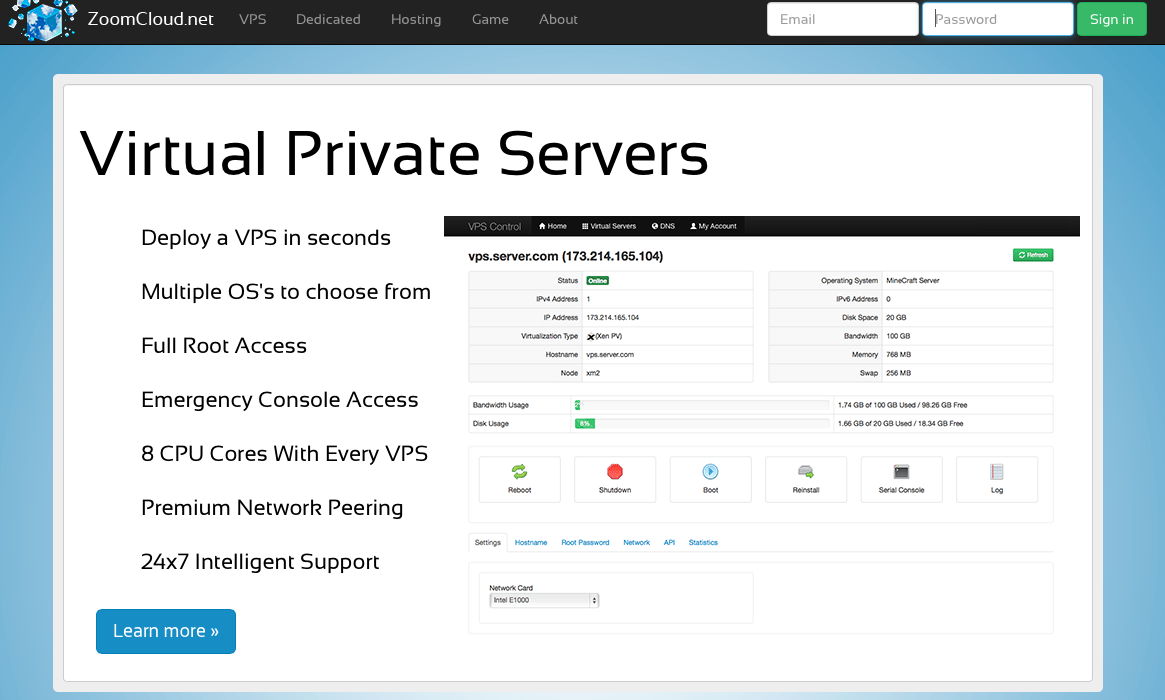 How-to Setup a Virtual Private Server (VPS).