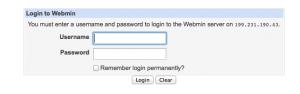 webminlogon